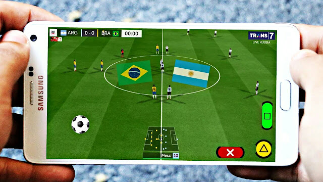 FTS 19 MOD FIFA World Cup Russia Graphics HD 200MB Android