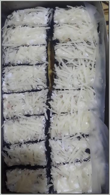 Kuliner Enak Nusantara - Lapis Kukus Sagu Surabaya