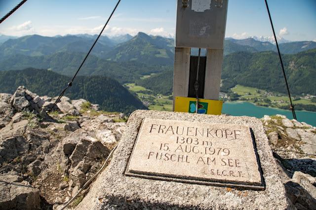 Schober und Frauenkopf  Wanderung Fuschl am See  Wandern FuschlseeRegion Salzkammergut 12