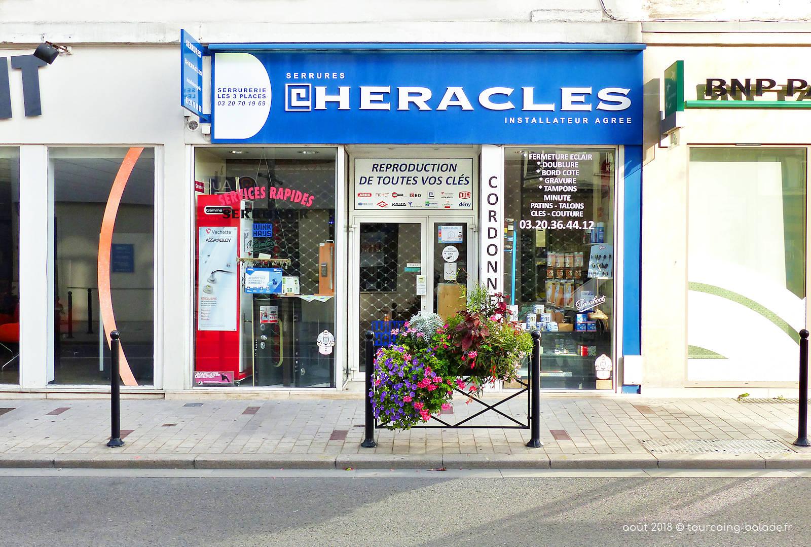 Serrurier Cordonnier Les 3 Places, Tourcoing Centre.