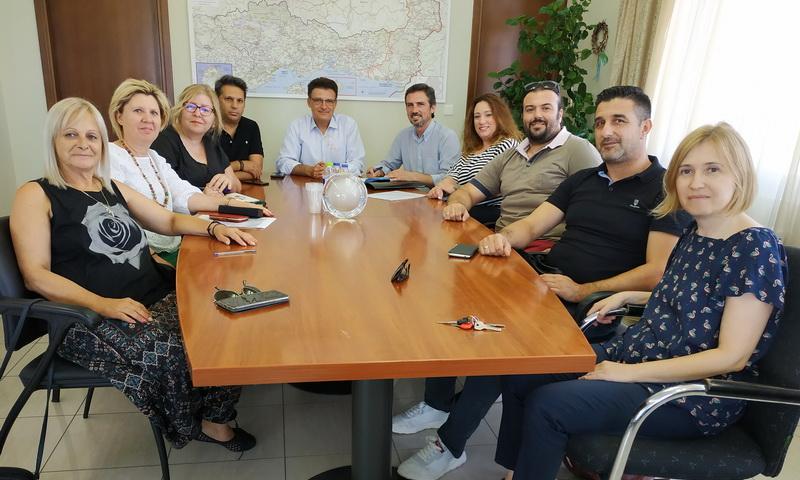 Συνάντηση Πέτροβιτς με τα μέλη του νέου Δ.Σ. της Ε.ΠΟ.Φ.Ε.