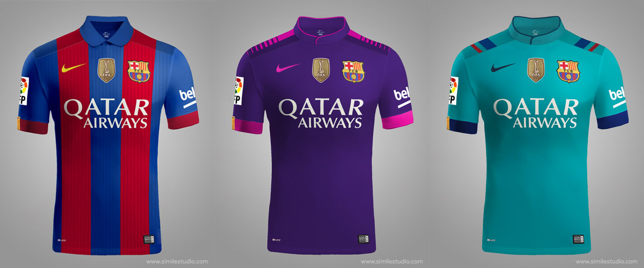 Confirmed: Sport's Leaked Barcelona 16-17 Kits Were Just a