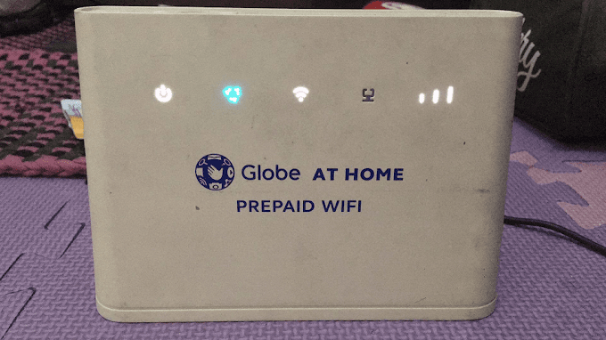 How to Change Your Globe At Home Prepaid WiFi Password