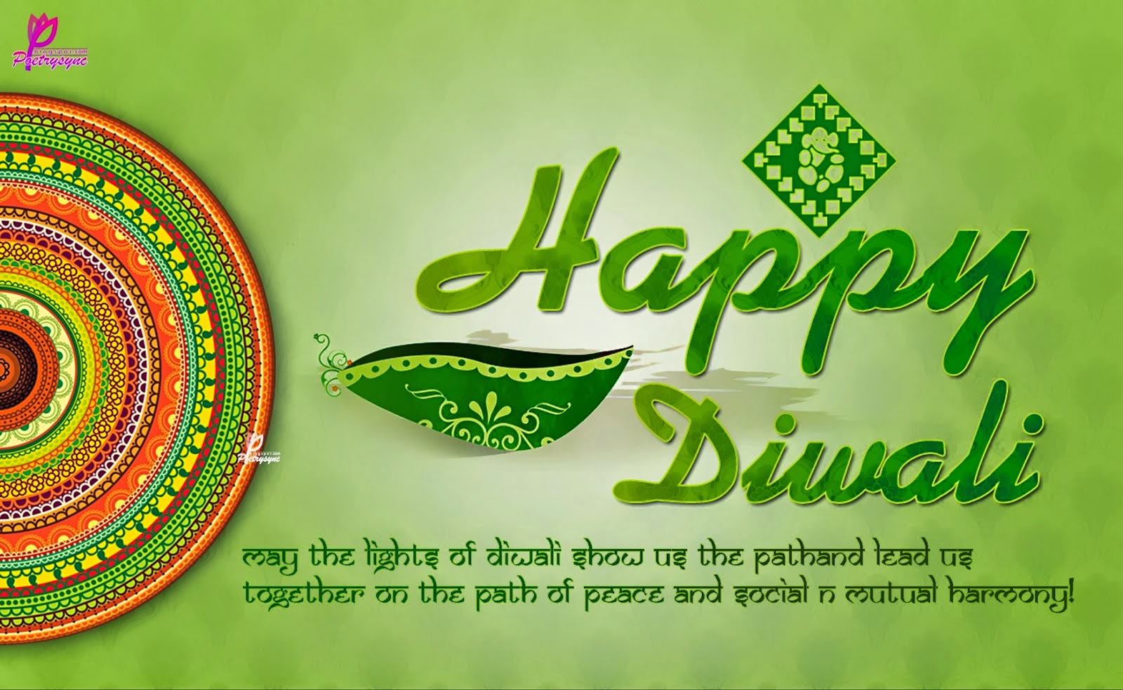 messages for diwali 2014