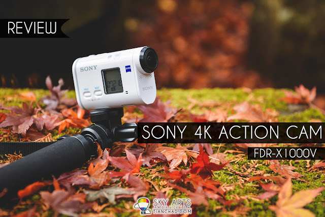 Review: Sony FDR-X1000V/W 4K Action Cam