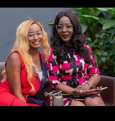 Top Fashion Blogger, Temi Otedola hosts Fashion Stylist and Designer, Ade Samuel