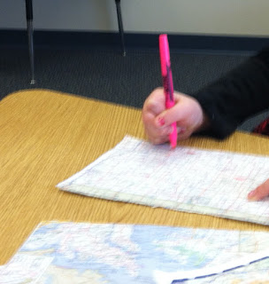 Maps and highlighters (Brick by Brick)
