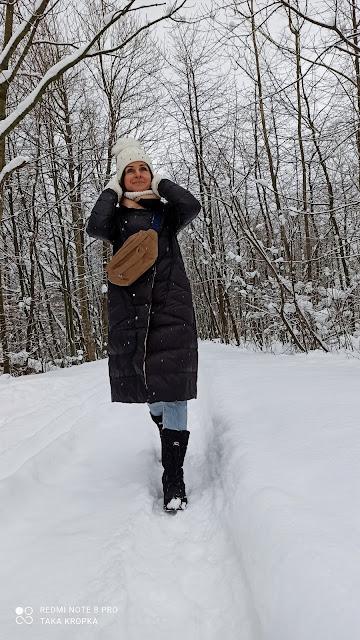 damski płaszcz zimowy