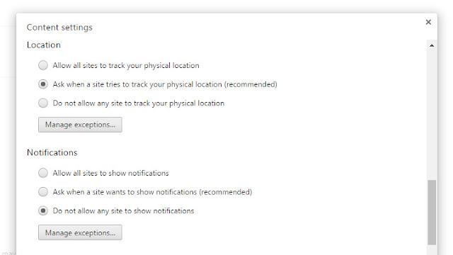 كيفية إيقاف الإشعارات من المواقع في متصفح Google Chrome نهائيًا