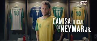 Promoção Camisas do Neymar Jr cafe pilao