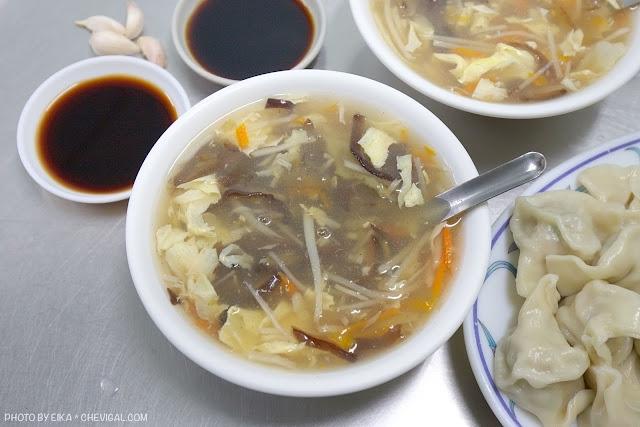 MG 2472 - 北方水餃,中華夜市近40年老字號水餃店,只賣水餃與酸辣湯,生意依舊強強滾