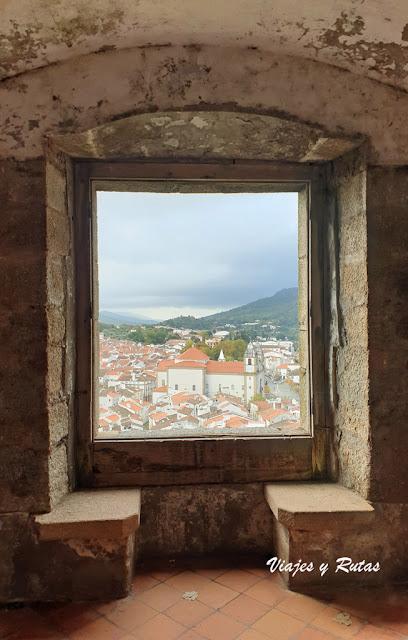 Vistas del Castelo de Vide desde el parladoiro