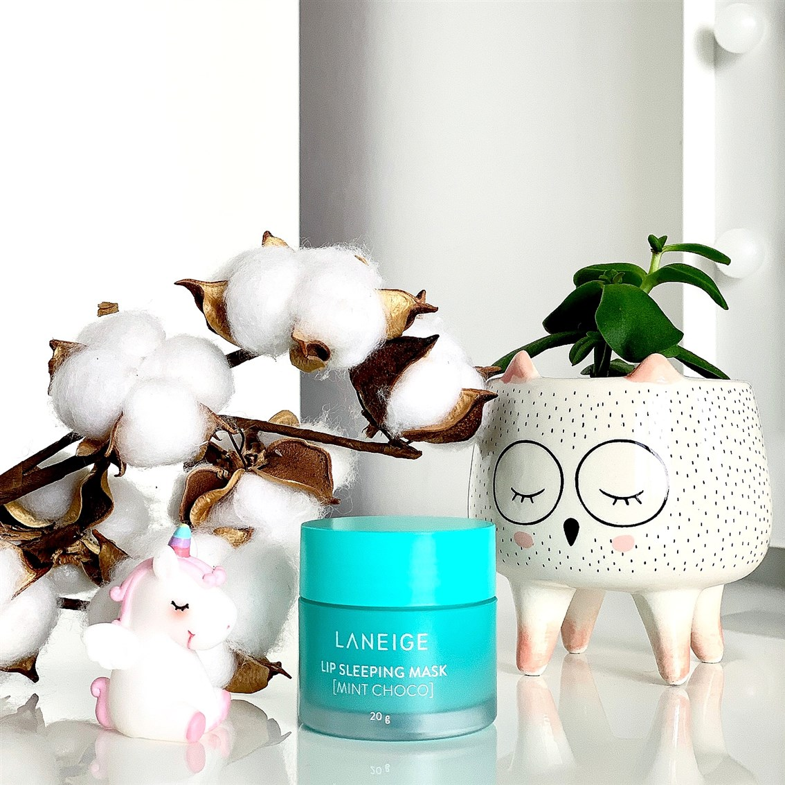 Laneige Lip Sleeping Mask Mint Choco blog