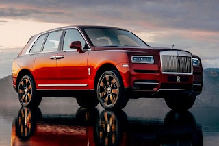 Rolls Royce launches its first SUV car Cullinan in India