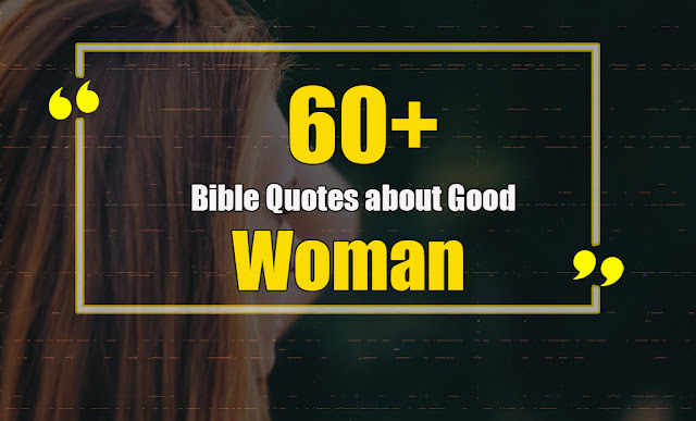 Bible quotes about good woman