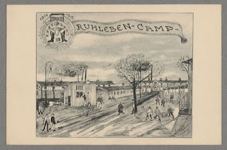 Ruhleben Internment Camp (from Harvard Law School)