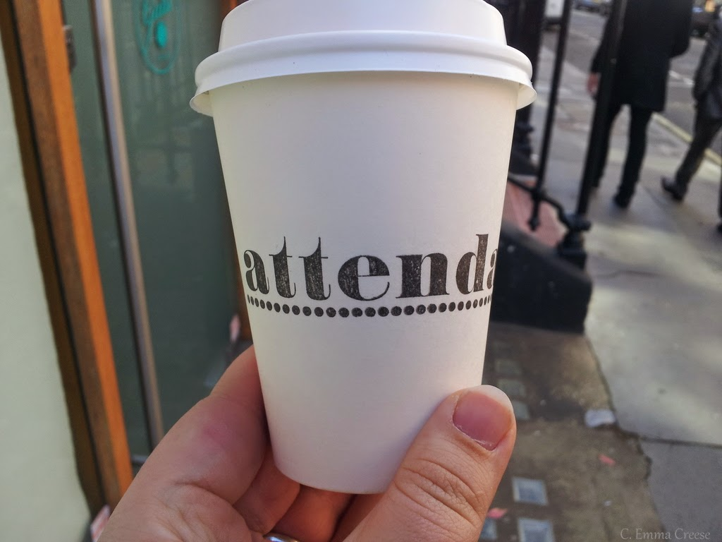 Attendant Cafe - Coffee, coffee, coffee secrets of Oxford Circus
