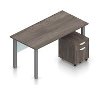 superior laminate desk configuration