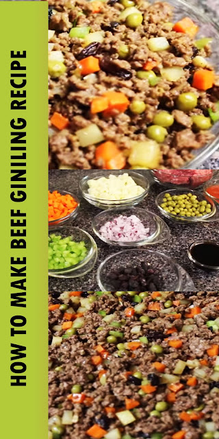 HOW TO MAKE BEEF GINILING