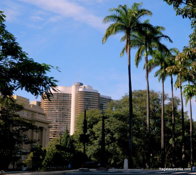 Edifício Niemeyer, na Praça da Liberdade, em Belo Horizonte