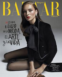 revista harper's bazaar diciembre