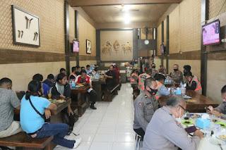 Kabid Humas Polda Sulsel Gelar Coffe Morning Bersama Wartawan