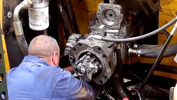 Hydraulic system maintenance)