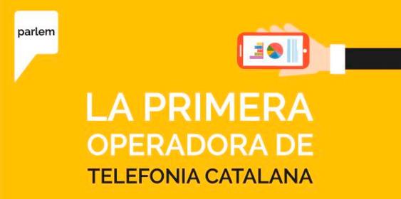 Parlem la primera operadora de telefonia catalana