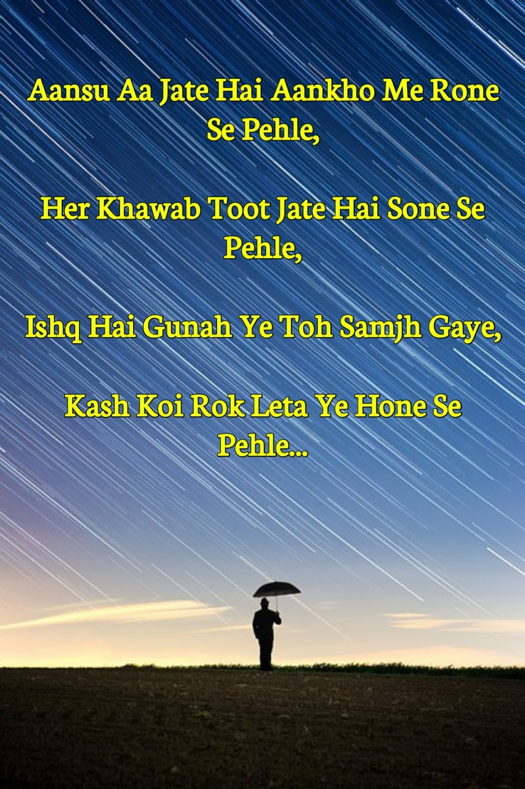 New sad love shayari