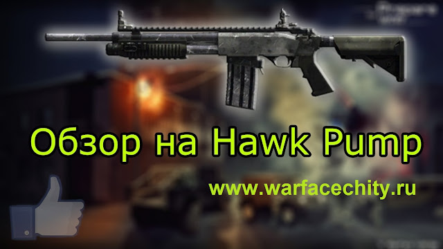 Дробовик Hawk Pump