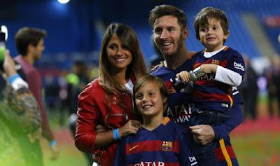 Inilah Enam Pemain Yang Dibicarakan Anak Messi Termasuk Ronaldo