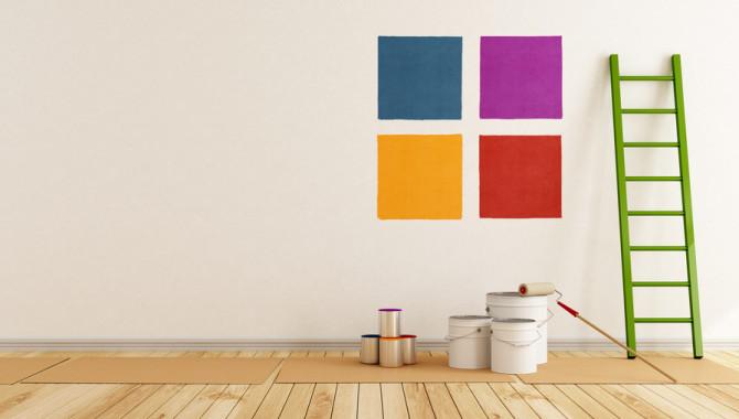 couleur papier peint tendance. Black Bedroom Furniture Sets. Home Design Ideas