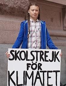Greta Thunberg é eleita Pessoa do Ano pela Time