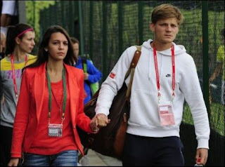 David Goffin's Girlfriend and Future Wife Stéphanie Tuccitto
