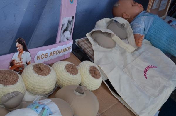Secretaria da Saúde de Cachoeirinha promove incentivo ao aleitamento materno