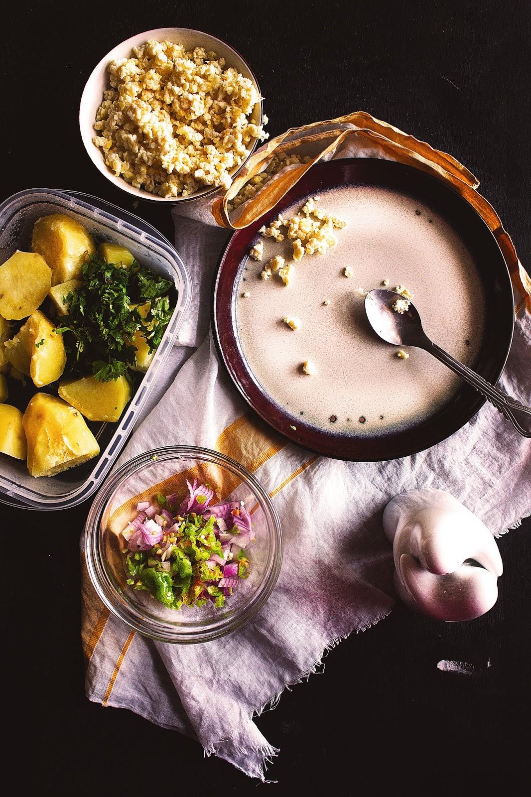 Aloo Seddho Makha / Bengali Style Mashed Potato | Eat Read
