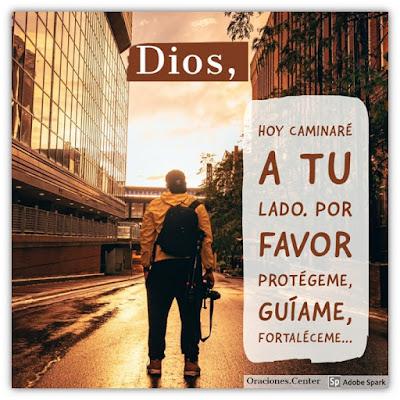 Oración de Hoy Lunes - Confía en Dios, El está a tu Mano Derecha.