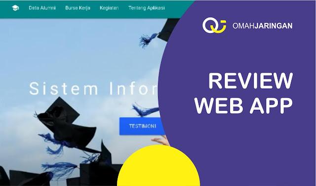 Review Source Code Sistem Informasi Alumni Berbasis Web