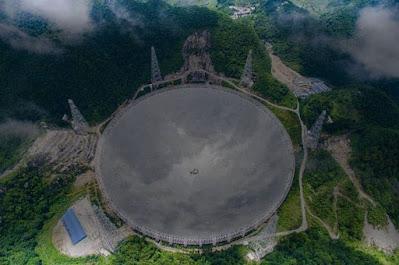 تمتلك الصين الآن أكبر تلسكوب لاسلكي في العالم ذو طبق واحد