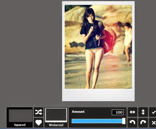 Cara membuat efek polaroid dengan Pixlr