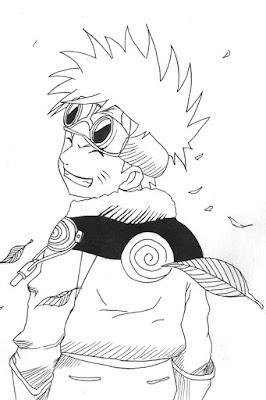 Komik Naruto bisa mewarnai  rahasia cara muda