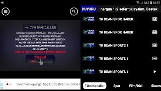 Mobil TV Apk ile Spor ve TV Kanalları izleyin