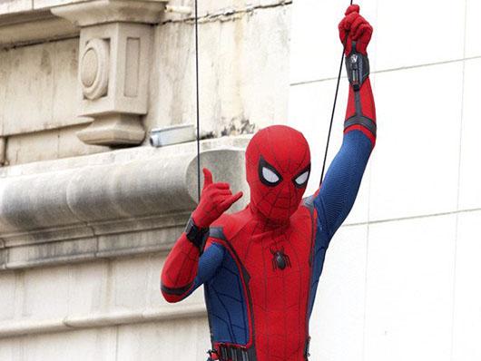Nuevas fotos de Spider-Man en el set de rodaje de 'Spider-Man: Homecoming'