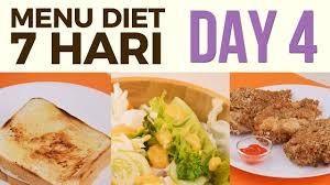 Contoh Menu Diet Seminggu