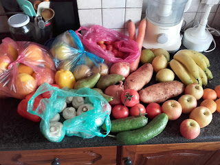 fresh fruit and vegetables in Cyprus