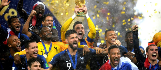 France are Russia 2018 champions after 4-2 win in Moscow, Russia.