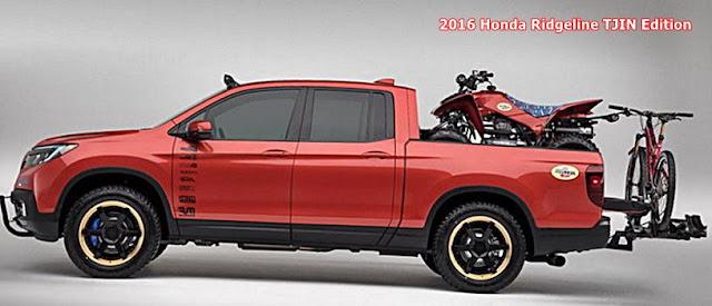 2017 Honda Ridgeline TJIN Edition