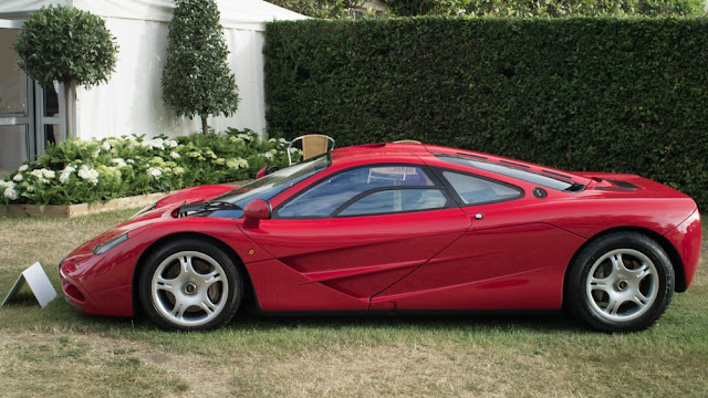 McLaren F1 British supercar