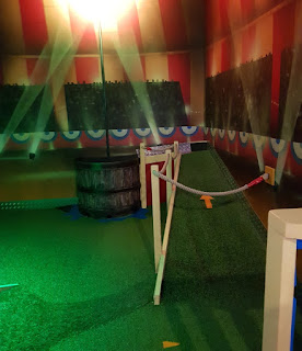 Putters Adventure Golf at Superbowl Warrington