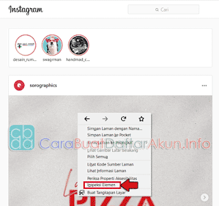 cara upload video di instagram lewat mozilla